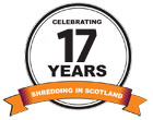 Celebrating 16 Years shredding in Scotland!